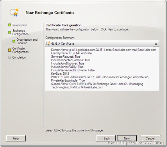 EXBlog: Home Downloads Exchange 2010 EMC and Certificates Management